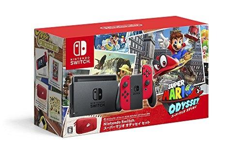 Nintendo Switch本体 スーパーマリオオデッセイセット
