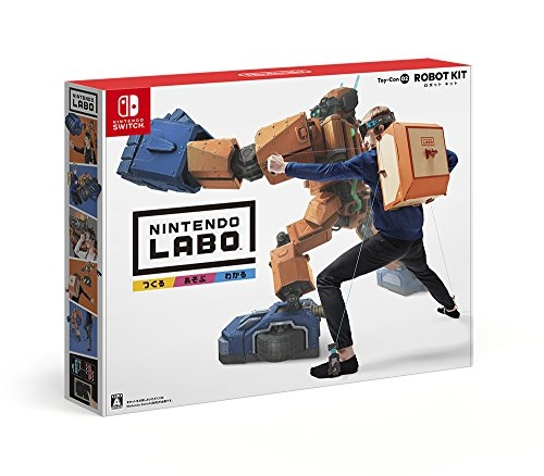 Nintendo Labo Toy-Con 02: Robot Kit (ロボットキット)